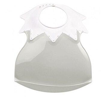 Baveta bebe ultra-soft Arlequin Thermobaby,Agate Grey