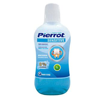 Apa de gura Sensitive 0% Alcool PIERROT 500 ml