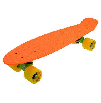 Skate Penny SLV Neon 22 inch, portocaliu-galben