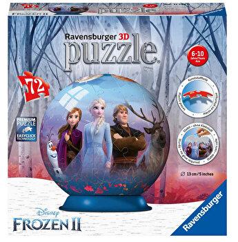 Puzzle 3D Ravensburger - Frozen II, 72 piese