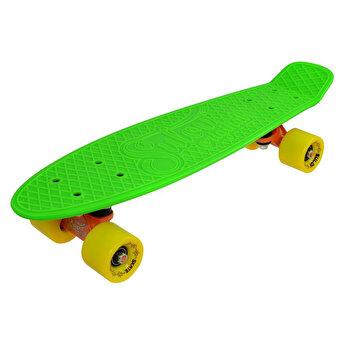 Skate Penny SLV Neon 22 inch, verde-galben