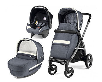 Carucior 3 In 1, Peg Perego, Book Plus S, Titania, Luxe, Luxe Mirage