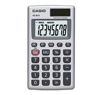 Calculator portabil Casio HS-8VA-S-EP, 8 digits