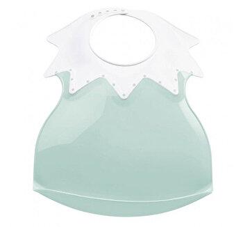 Baveta bebe ultra-soft Arlequin Thermobaby, Celadon green
