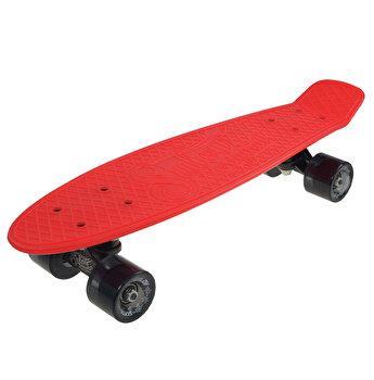 Skate Penny SLV Venice 22 inch, rosu-negru