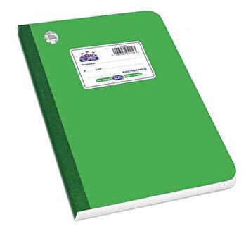 Caiet A5 Skag Flexbook, 60 file, dictando, verde
