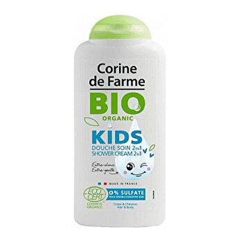 Gel de dus pentru copii Bio Organic, 300ml