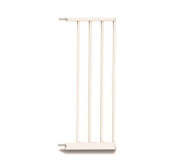 Extensie poarta de siguranta Noma, metal alb, 28 cm N93972