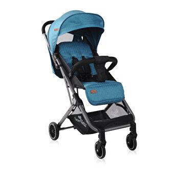 Carucior pentru nou-nascut, Fiona, geanta de transport inclusa, Sea Blue