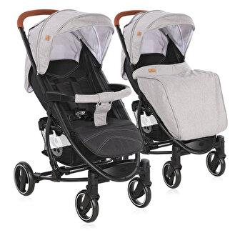 Carucior pentru nou-nascut, S 300, Grey & Black