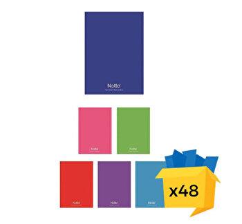 Set 48 caiete Notte School, A4, matematica, 60 file