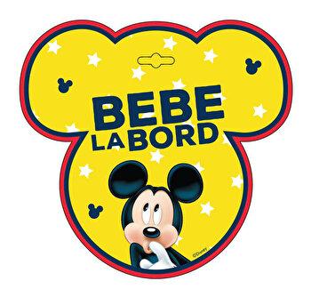 Semn auto Bebe la Bord - Mickey Mouse SEV9626