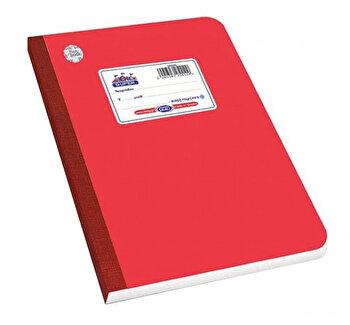 Caiet A4 Skag Flexbook, 60 file, dictando, rosu