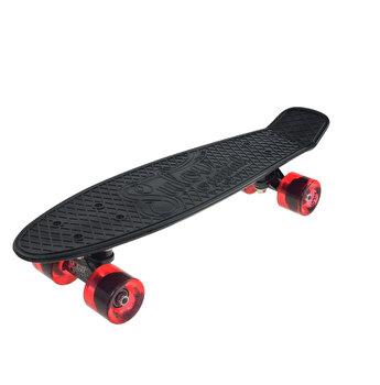Skate Penny SLV Venice 22 inch, negru-rosu
