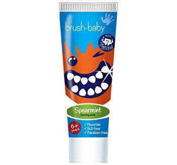 Pasta de dinti pentru copii Spearmint, 50 ml, 6 ani poza