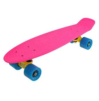 Skate Penny SLV Neon 22 inch, roz-albastru