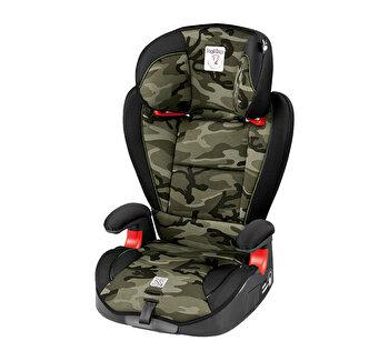 Scaun Auto Viaggio 2-3 Surefix, Peg Perego, Camouflage Green