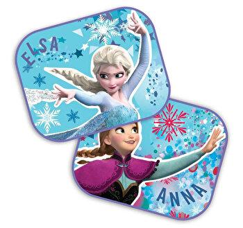 Set 2 parasolare auto Anna si Elsa - Frozen