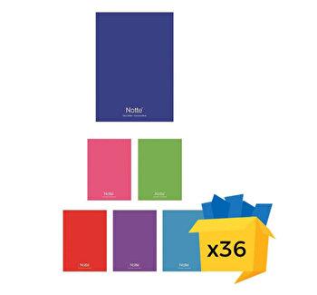 Set 36 caiete Notte School, A4, matematica, 80 file