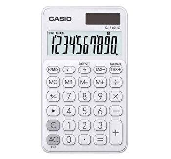 Calculator de birou Casio SL-310UC, 10 digits, alb