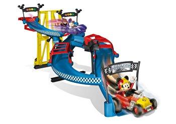 Set de joaca Disney - Pista de curse Mickey Roadster Racers
