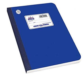 Caiet A4 Skag Flexbook, 60 file, dictando, albastru