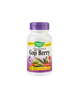 Supliment alimentar Nature's Way by Secom Goji Berry SE 60 capsule vegetale Nature's Way by Secom