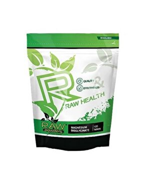 Raw Powders Magneziu Bisglicinat 500 mg 120 Tablete de la Raw Powders