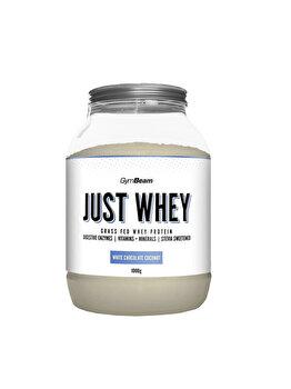 Proteine Just Whey Gymbeam ciocolat alba - cocos GymBeam