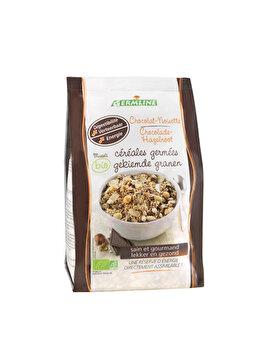 Musli din cereale germinate Germline ciocolata alune bio, 350 g de la Germline