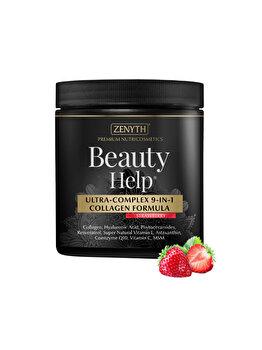 Supliment alimentar cu acțiune antiaging Zenyth BeautyHelp Strawberry Flacon 300 grame de la Zenyth