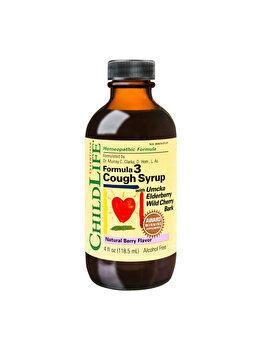 Supliment alimentar ChildLife Essential by Secom Cough Syrup 118.50ml (gust de fructe) de la ChildLife Essential by Secom