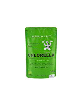 Chlorella, pulbere ecologica pura Republica BIO, 125 g de la Republica Bio