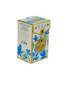 Ceai Tealia by Secom Organic Earl Grey 20 plicuri piramida x 2g