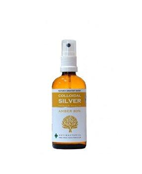 Colloidal Chihlimbar 80% Argint coloidal 100 ml Spray de la Colloidal