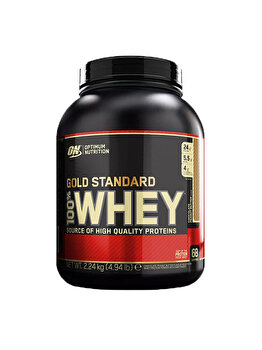 100% Proteina din zer Optimum Nutrition Whey Gold Standard Chocolate Peanut Butter 2260g de la Optimum Nutrition