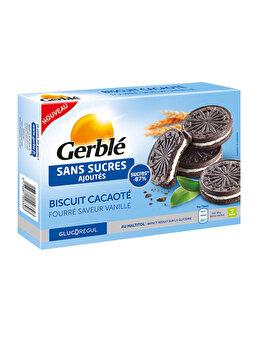 Biscuiti cacao cu crema de vanilie Glucoregul 176g de la Glucoregul