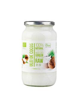 Ulei de cocos virgin Obio raw bio, 1000 ml/920 g