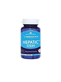 Supliment alimentar Herbagetica Hepatic + Stem60 capsule de la Herbagetica