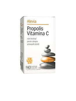 Propolis vitamina C Alevia 40 comprimate de la Alevia