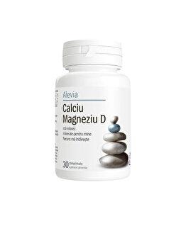 Calciu magneziu D Alevia 30 comprimate