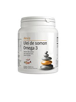 Ulei de somon Omega 3 Alevia 120 comprimate de la Alevia