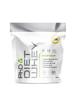 Amestec proteic PhD Diet Whey Vanilla Creme, 1 kg PhD