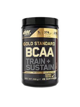 Aminoacizi Gold Standard Optimum Nutrition BCAA Train + Sustain Cola 266g Optimum Nutrition