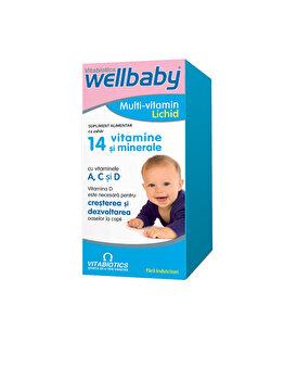 Supliment alimentar Vitabiotics Wellbaby Multi-Vitamin Lichid 150 ml