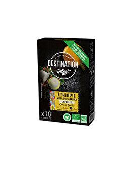 Cafea capsule moka pur arabica Etiopia Eco Destination 55g de la DESTINATION