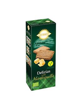 Biscuiti din spelta Bio Drama cu unt bio, 135 g de la Bio Darma