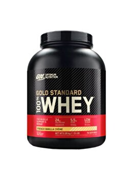 100% Proteina din zer Optimum Nutrition Whey Gold Standard French Vanilla Crème 2260g de la Optimum Nutrition