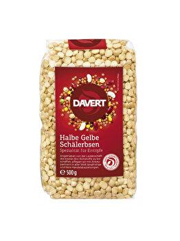 Mazare galbena Davert bio, 500 g de la Davert