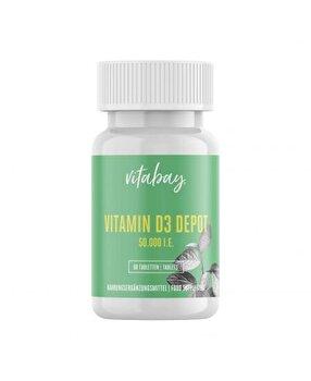 Vitabay Vitamina D3 - 50.000 UI - 60 Tablete Vitabay